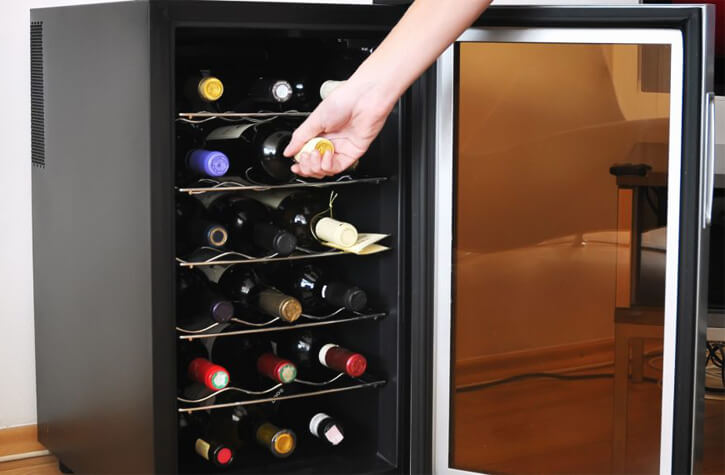 meilleure cave à vin de service
