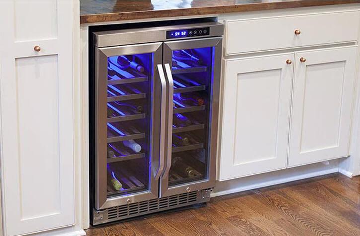 meilleure cave à vin multi température