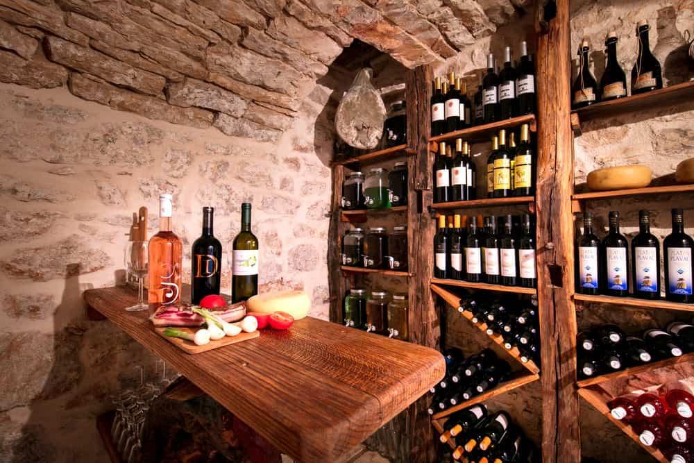 Emplacement idéal de la cave à vin