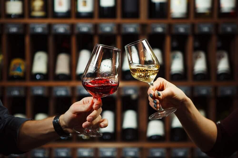 Vin rouge contre Vin blanc